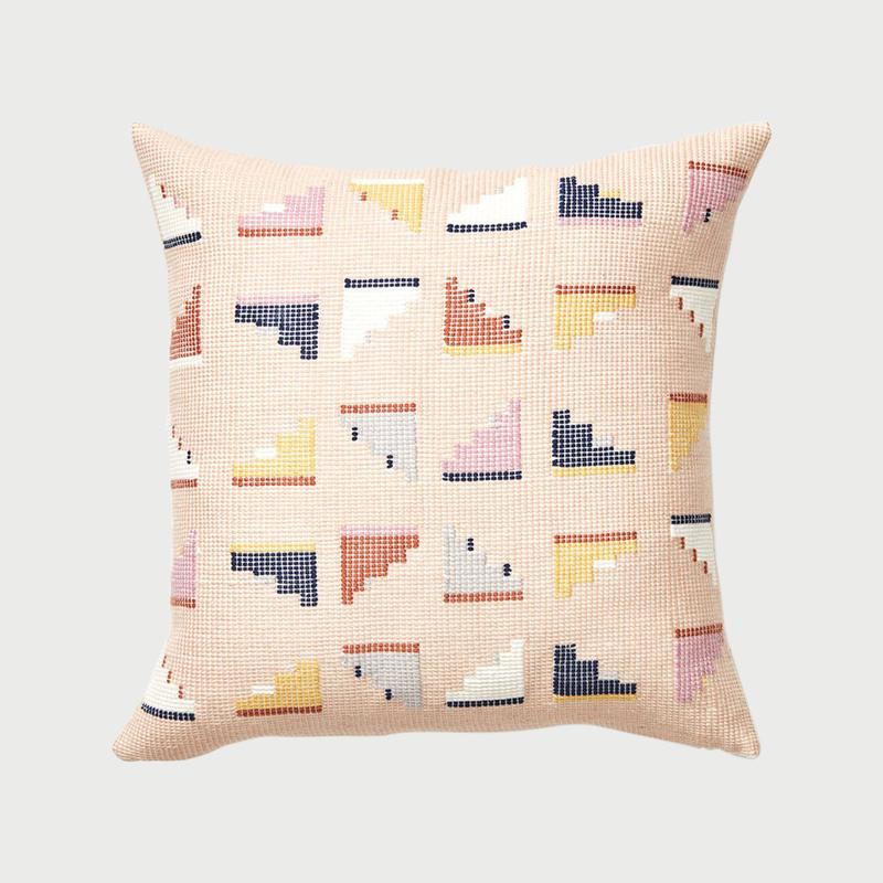 Minna barragan pillow peach
