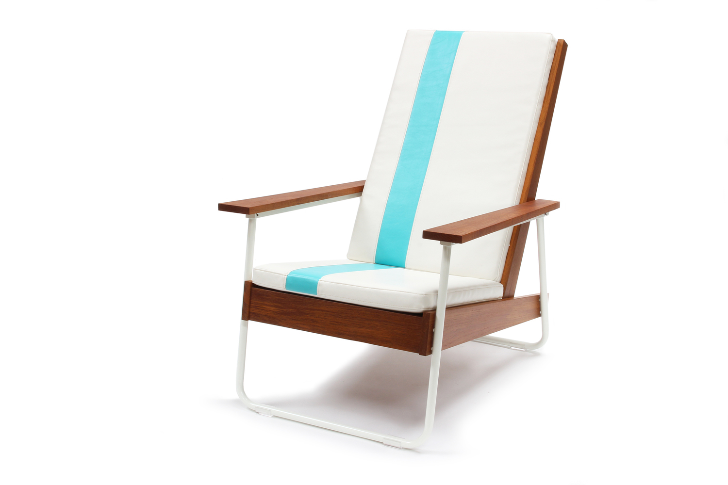 Belmont and teak with cushion large