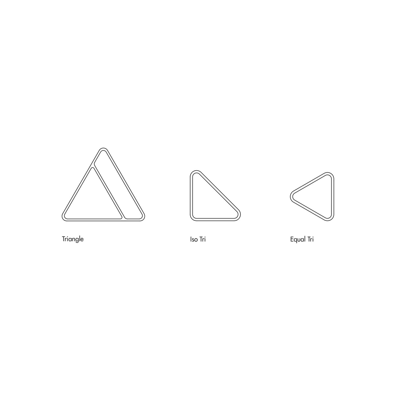 Harold trays triangle