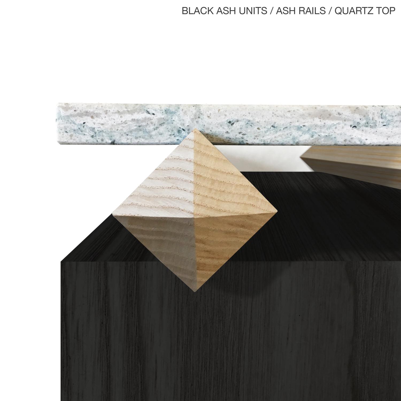 Blackash ash stone
