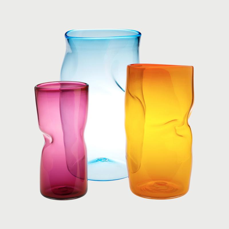 Slumped vase