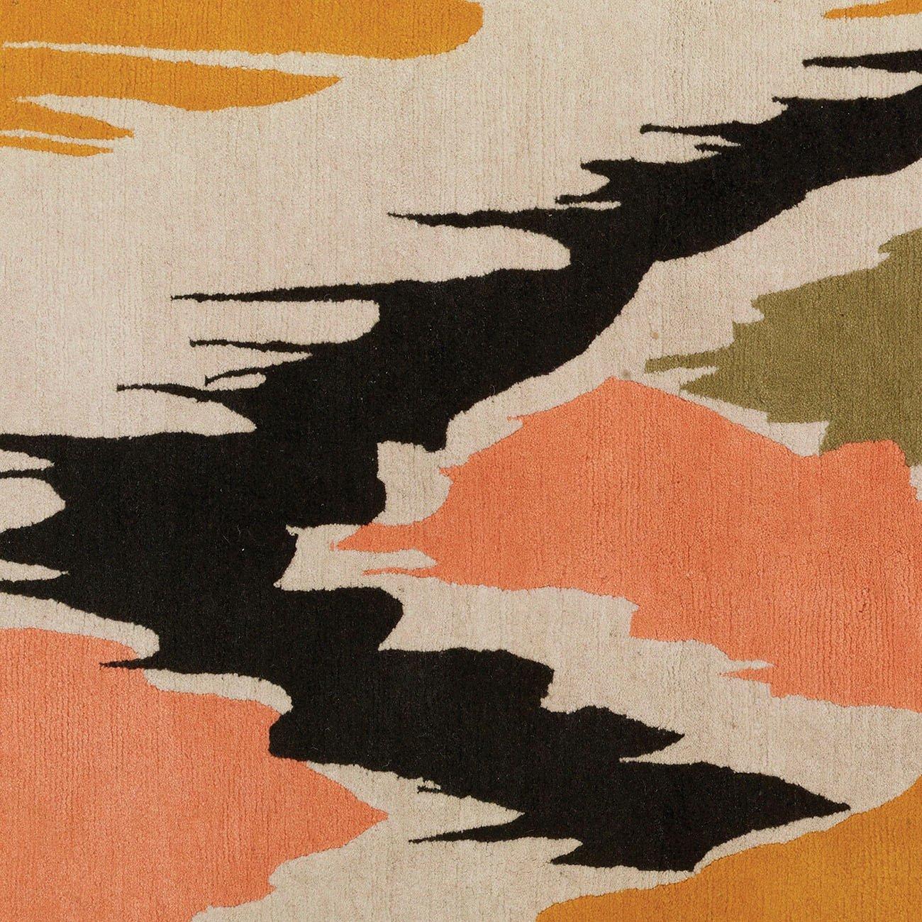 Wolfum delphine rug detail