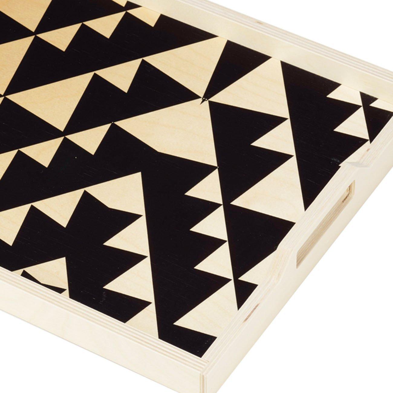 Wolfum black triangle detail