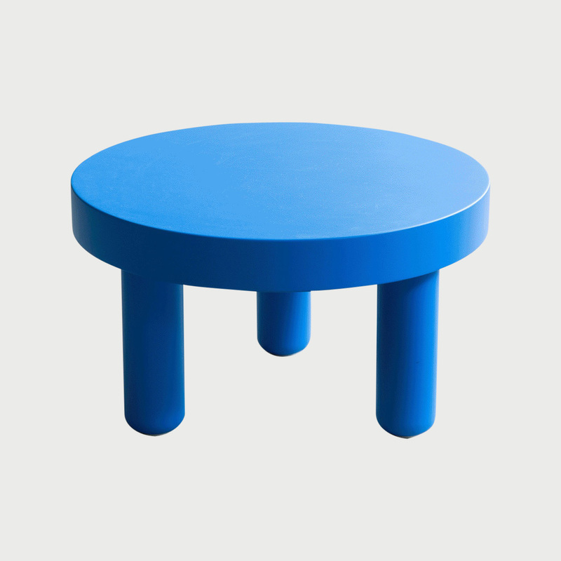 Blue low table  281 29