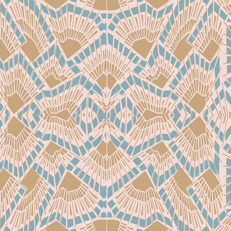Wolfum deco pastel wallpaper1