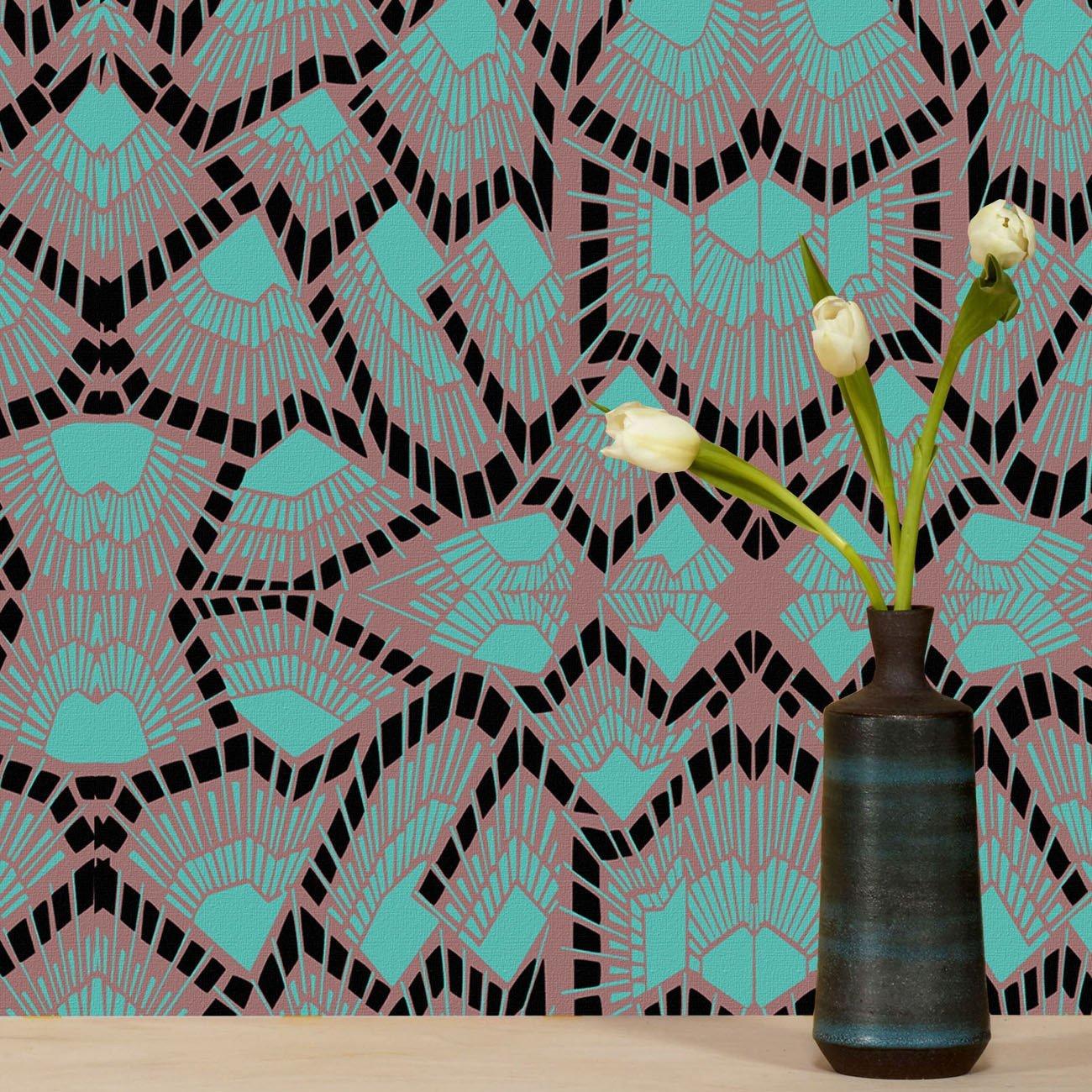 Wolfum deco midnight wallpaper2