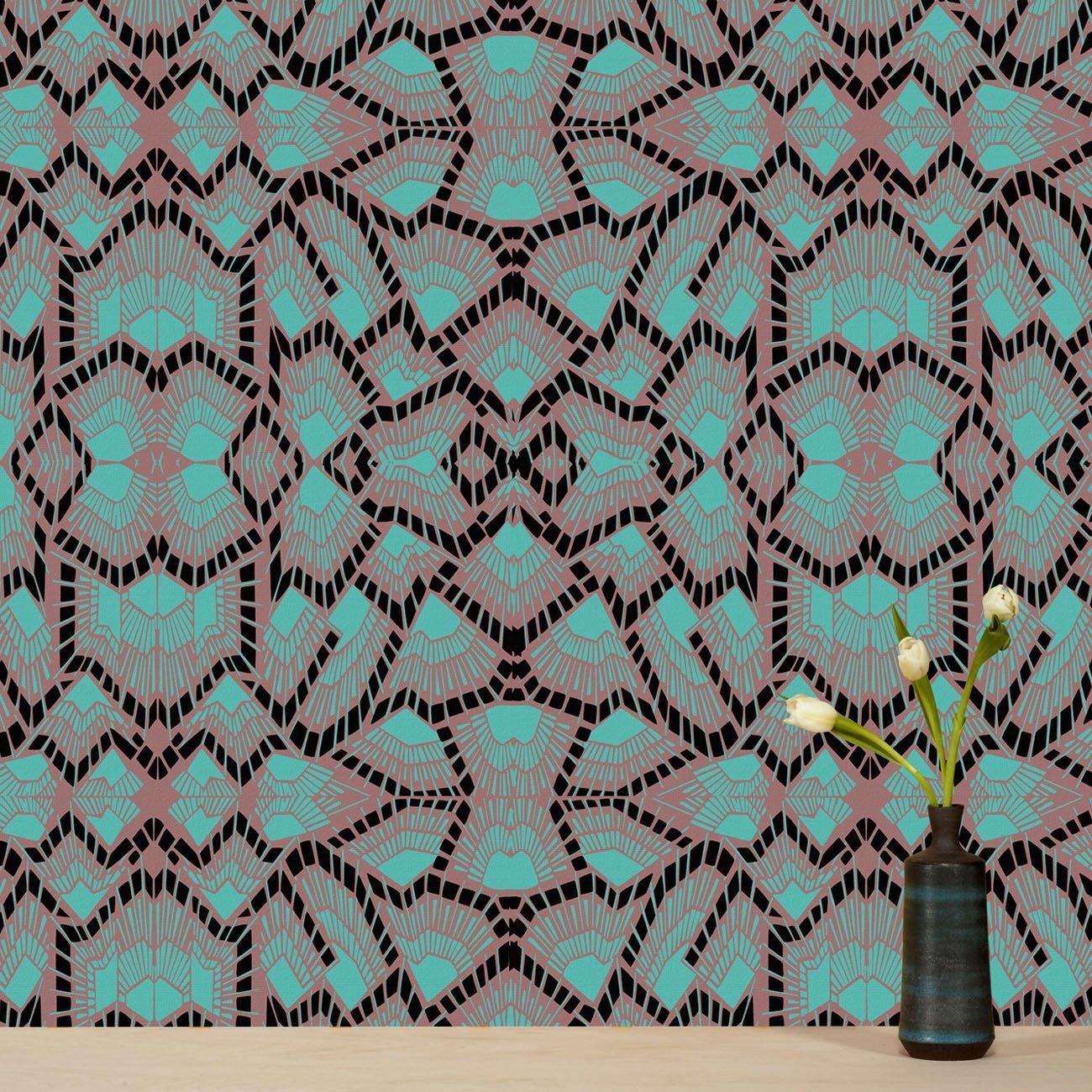 Wolfum deco midnight wallpaper3
