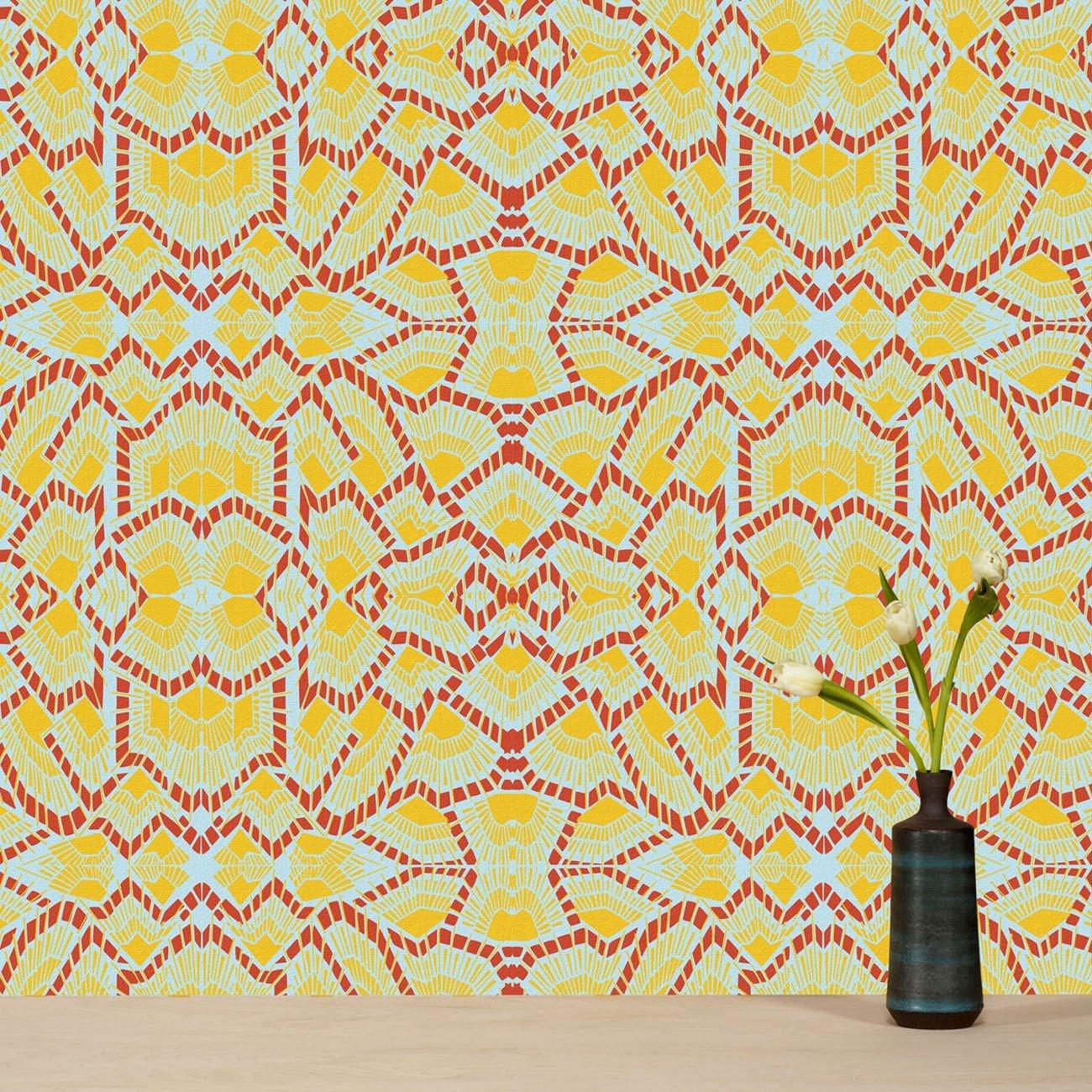 Wolfum deco sunshine wallpaper1