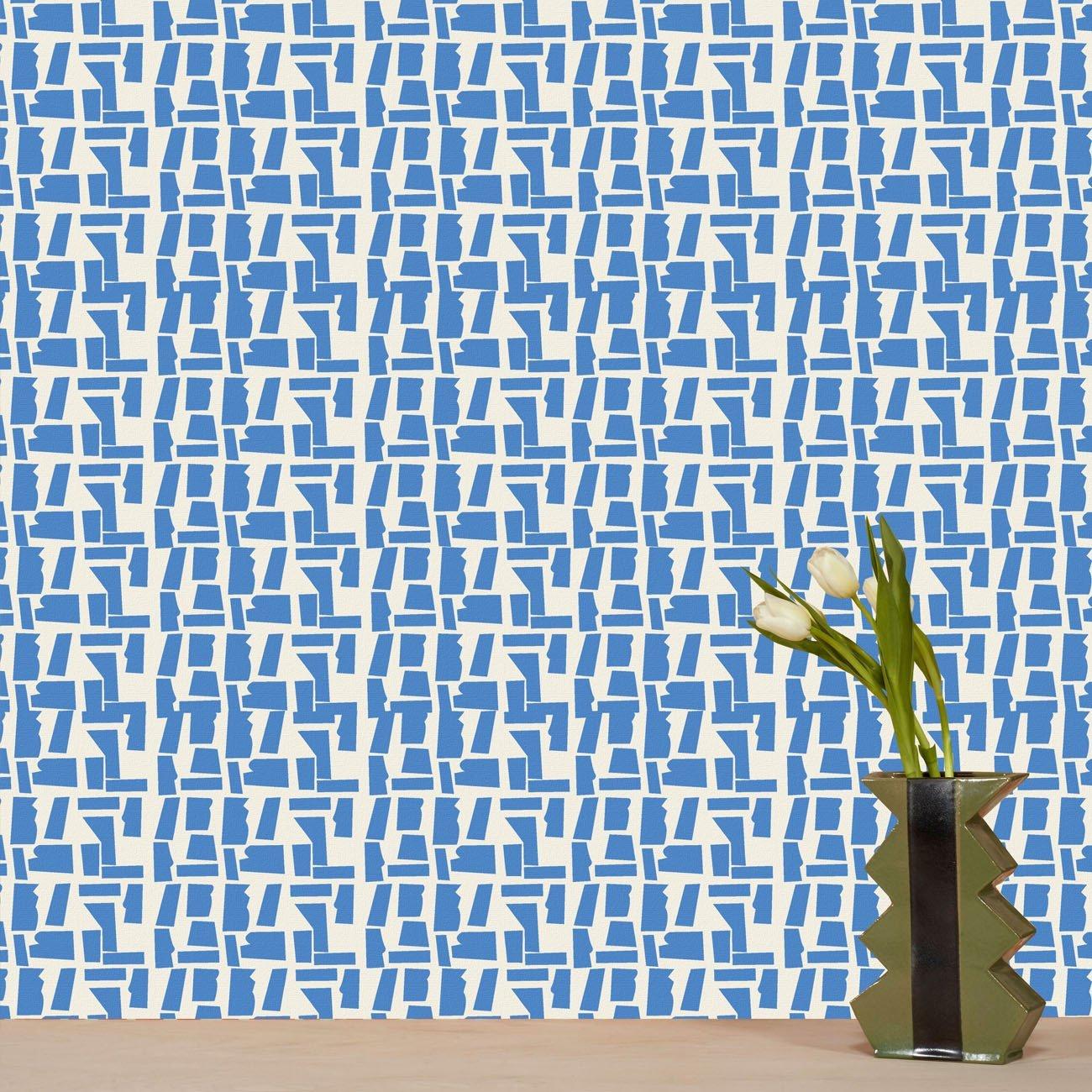 Wolfum rana cobalt blue wallpaper1