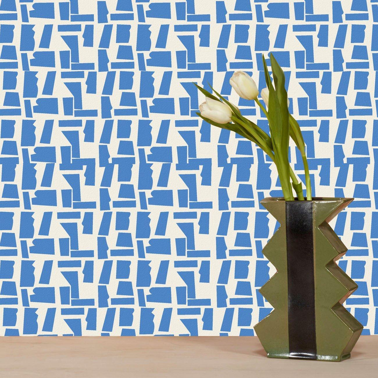Wolfum rana cobalt blue wallpaper3
