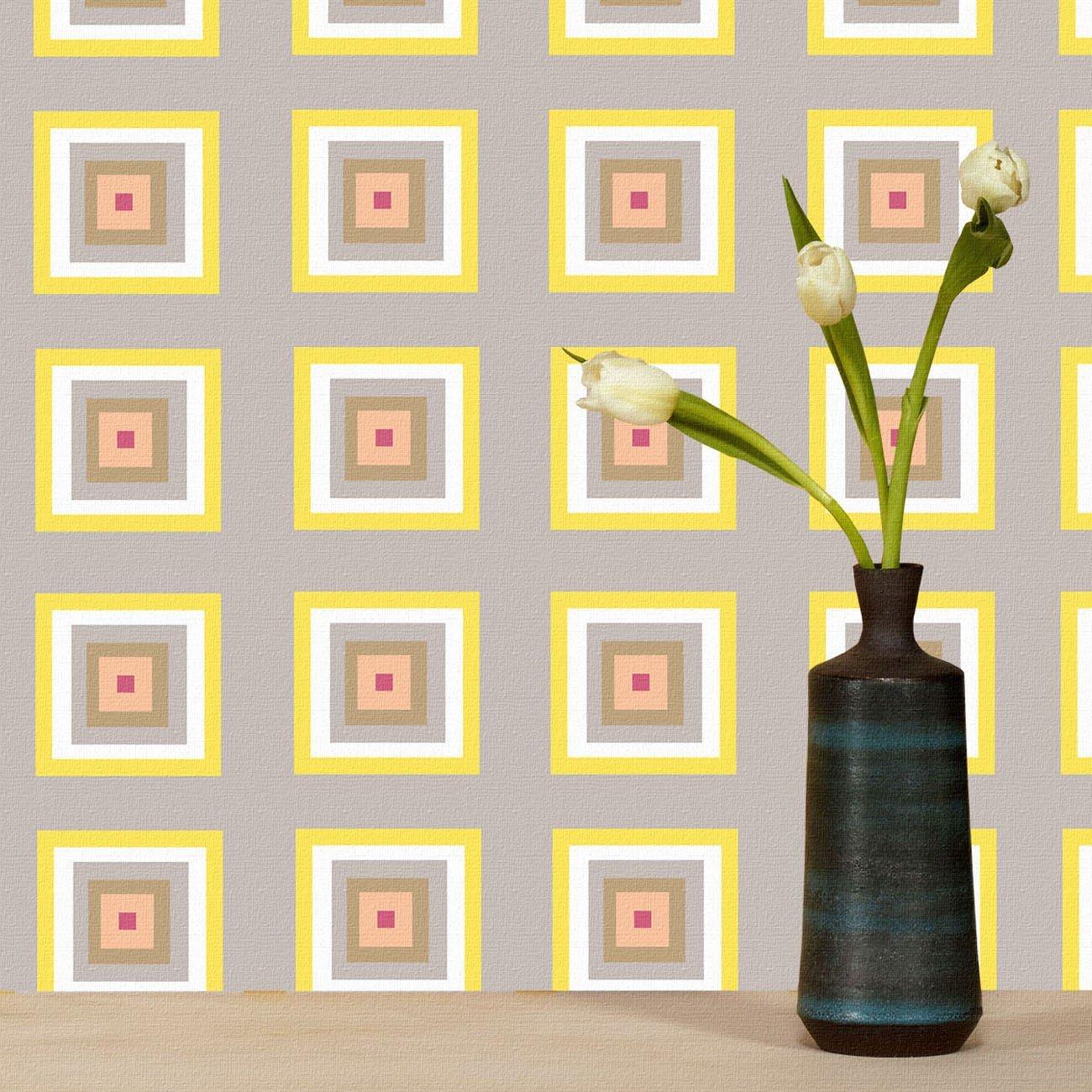 Wolfum squaresville pastel wallpaper2
