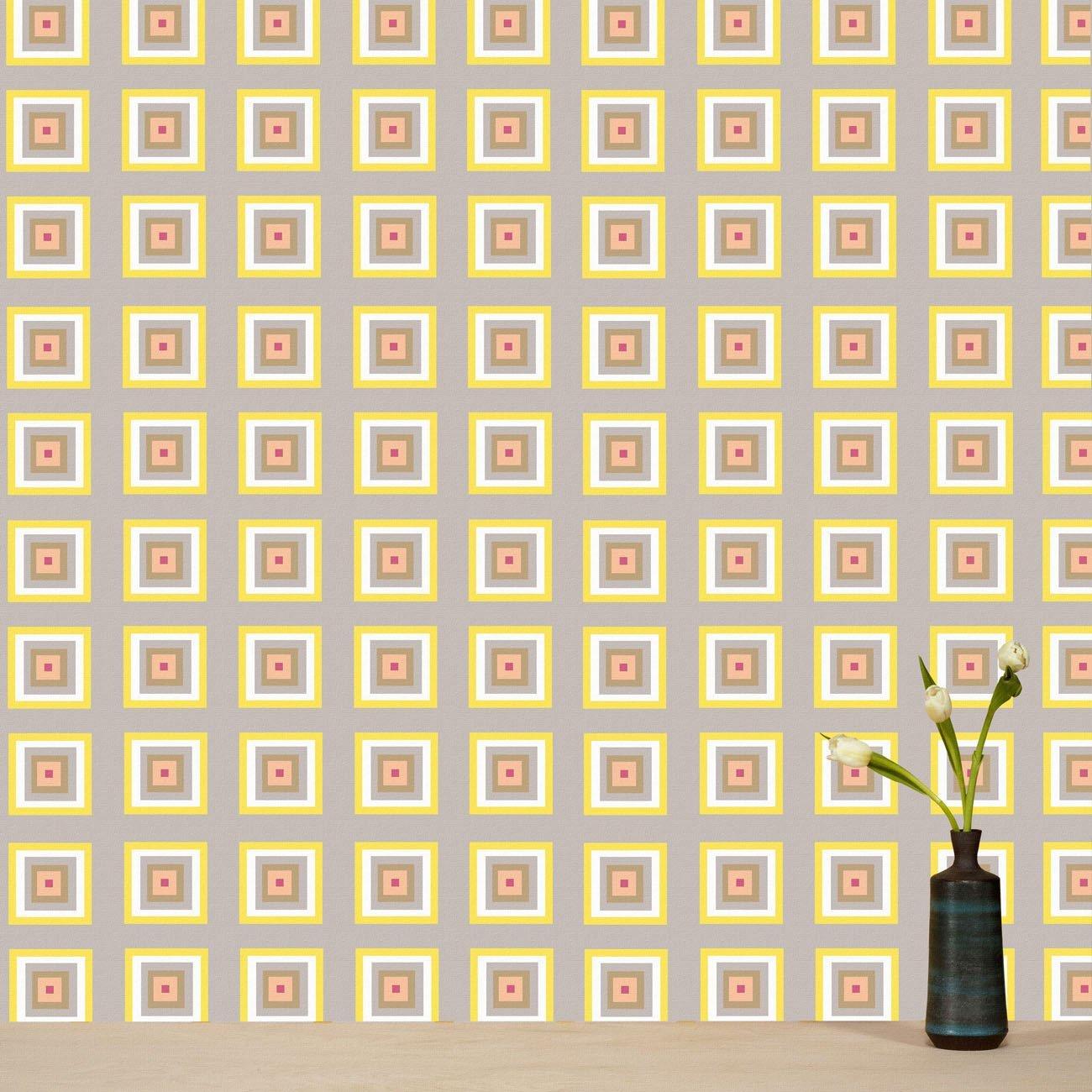 Wolfum squaresville pastel wallpaper1