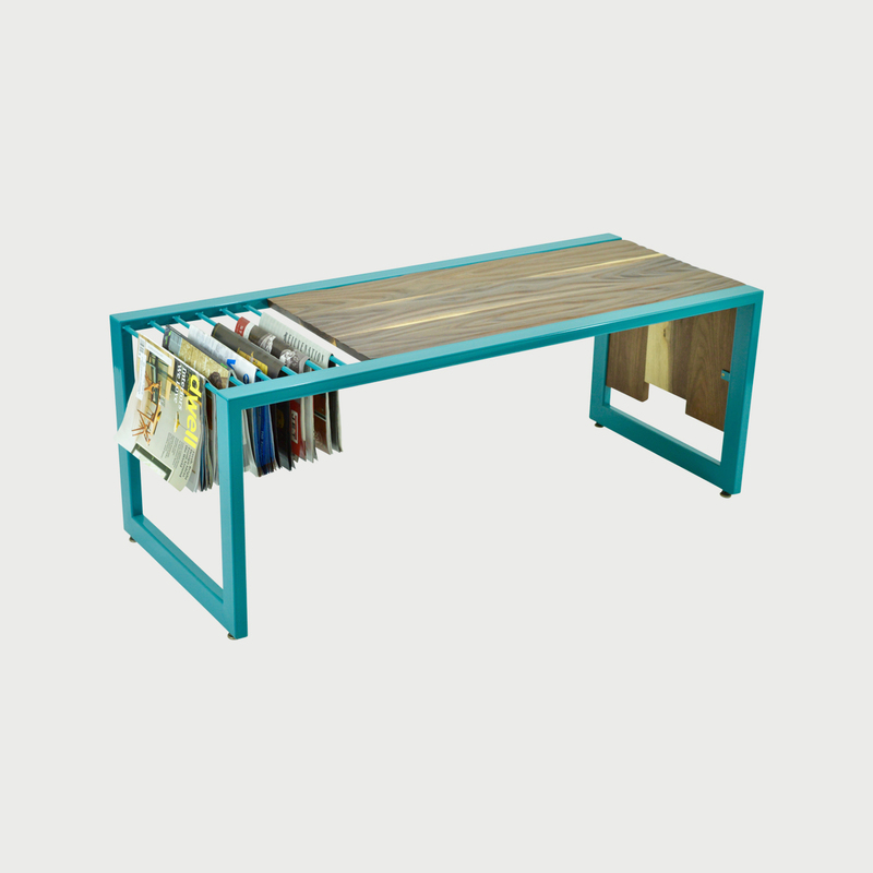 Modern custom  furniture brooklyn nyc cauv design waterfall topography modern coffee table 3