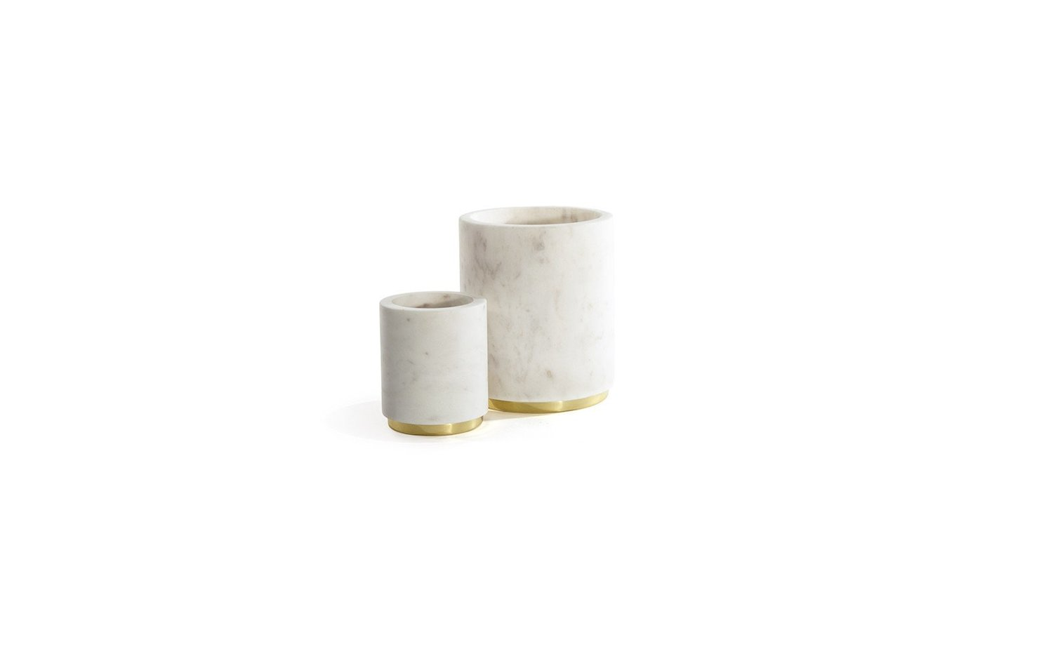Mara brass utility canister family