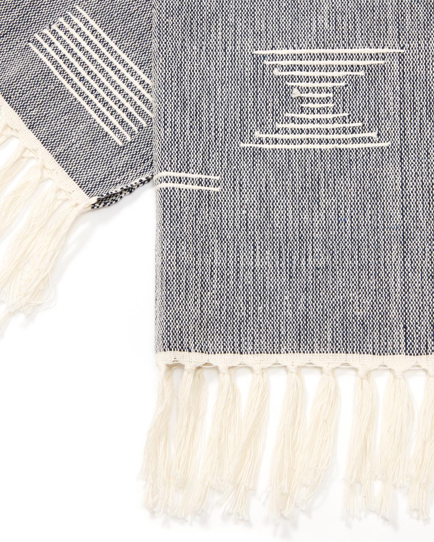 Towel shapesblue detail1