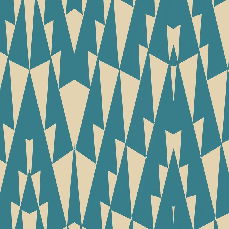 Wolfum triangle blue wallpaper3