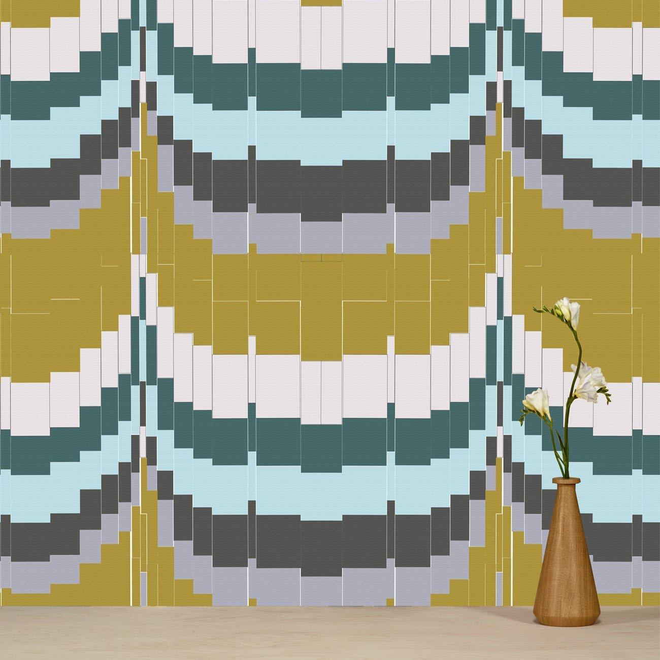 Wolfum zag zig mustard wallpaper1