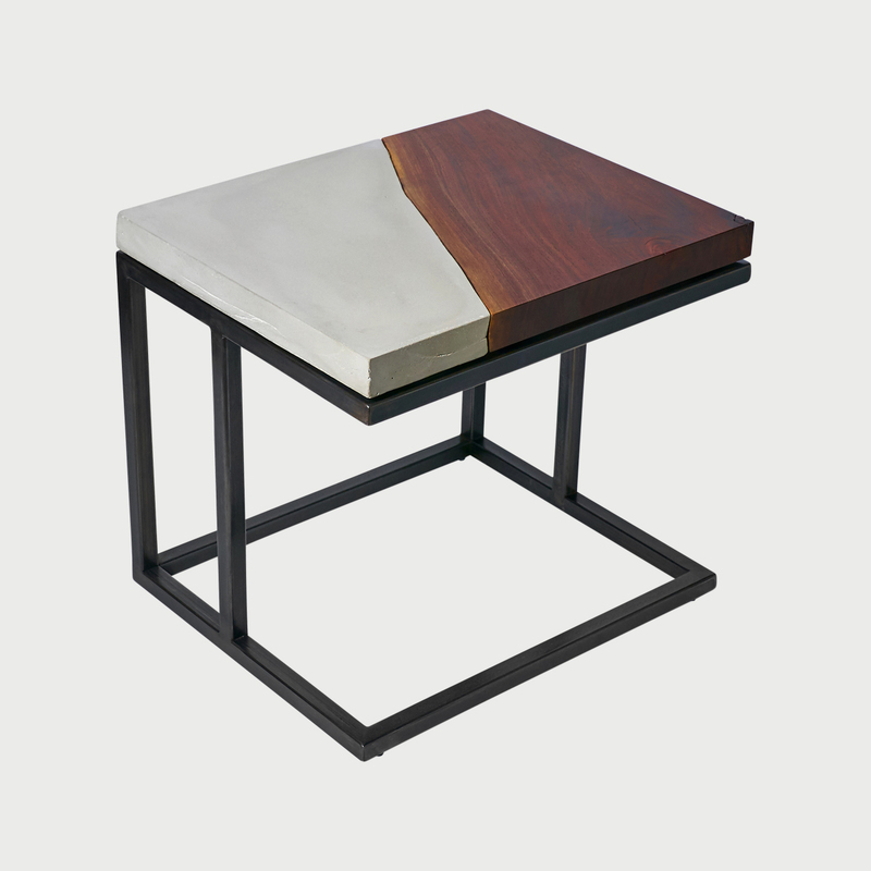 Resolve end table cauv design furniture designer brooklyn ny maker 1