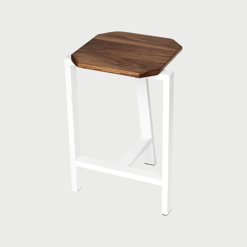Treble stool 1 cauv design brooklyn furniture maker
