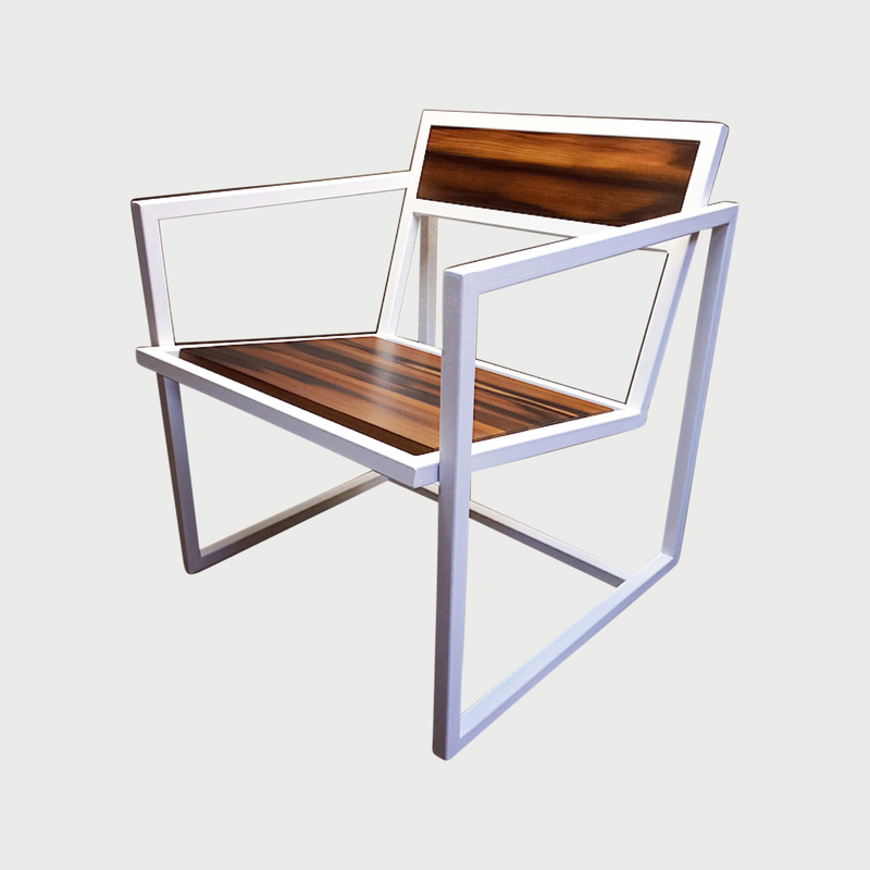 Modern custom  furniture maker brooklyn nyc cauv design redwood industry chair
