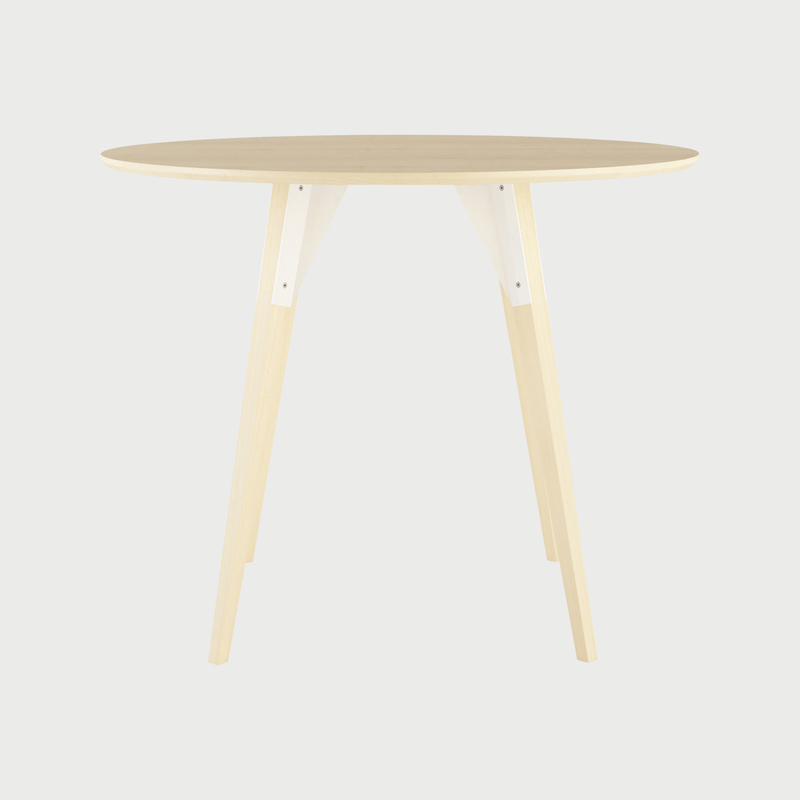 Clarke dining sm circle maple white1  281 29