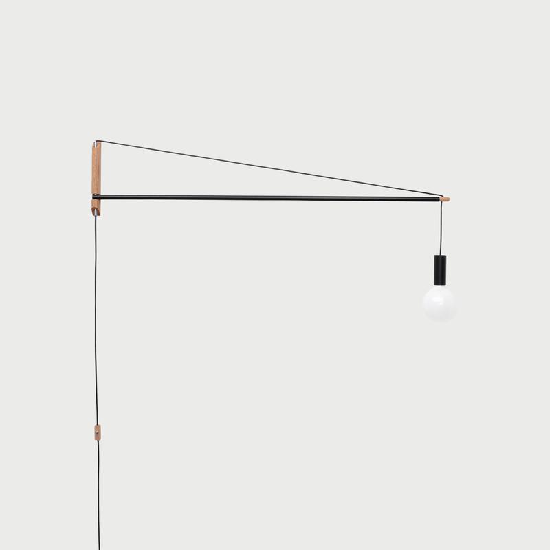 Crane light black