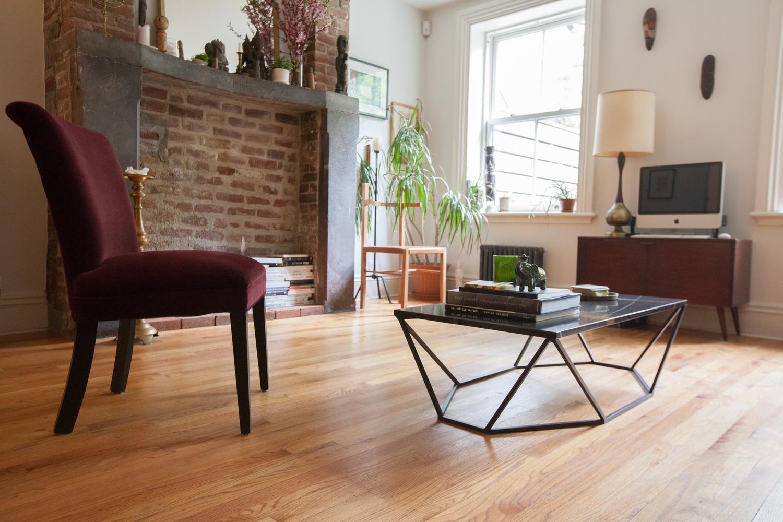 Dusk coffee table in situ black