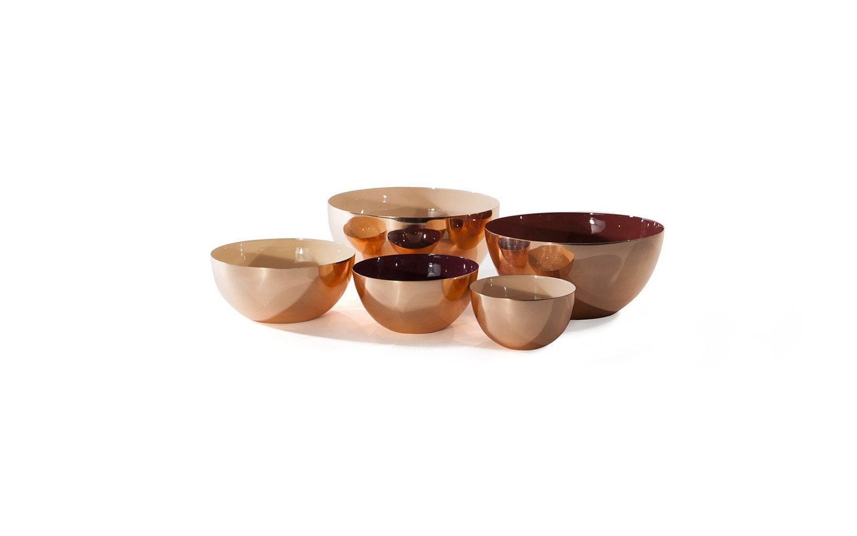 Louise copper bowl family color