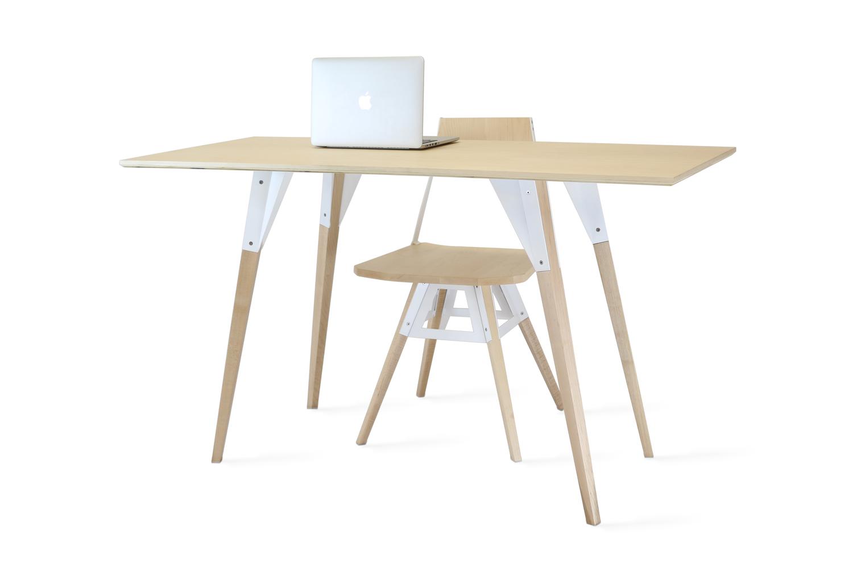 Clarke desk maple white5  281 29
