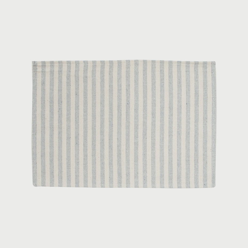 Procida blue stripe placemat 1bq x2000