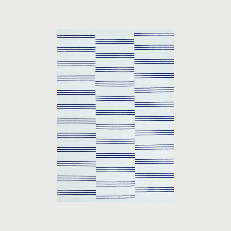 Stripes blue highres more blue