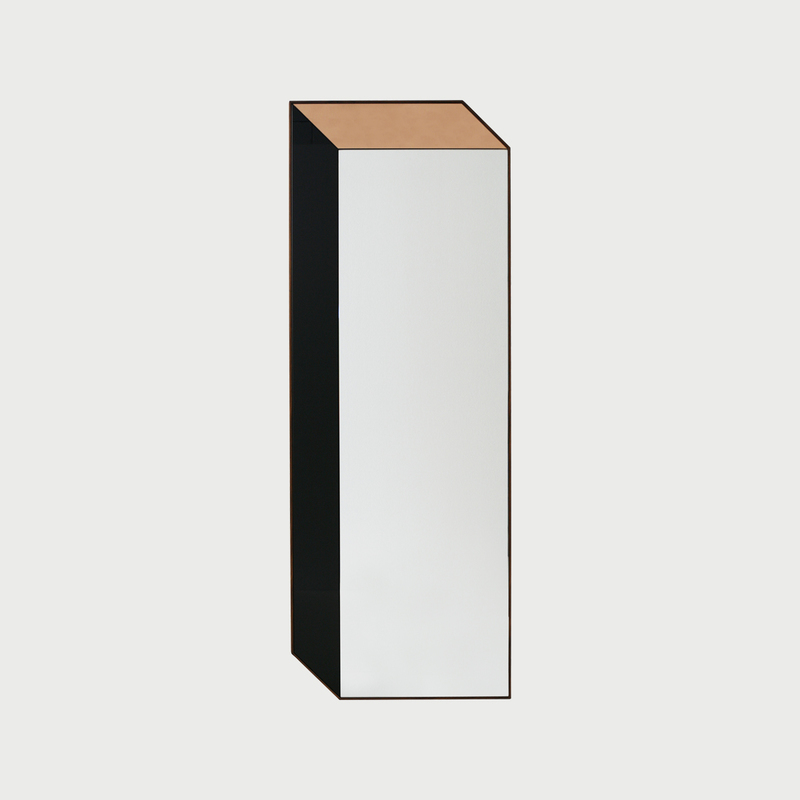 10 cuboid shape mirror clean square