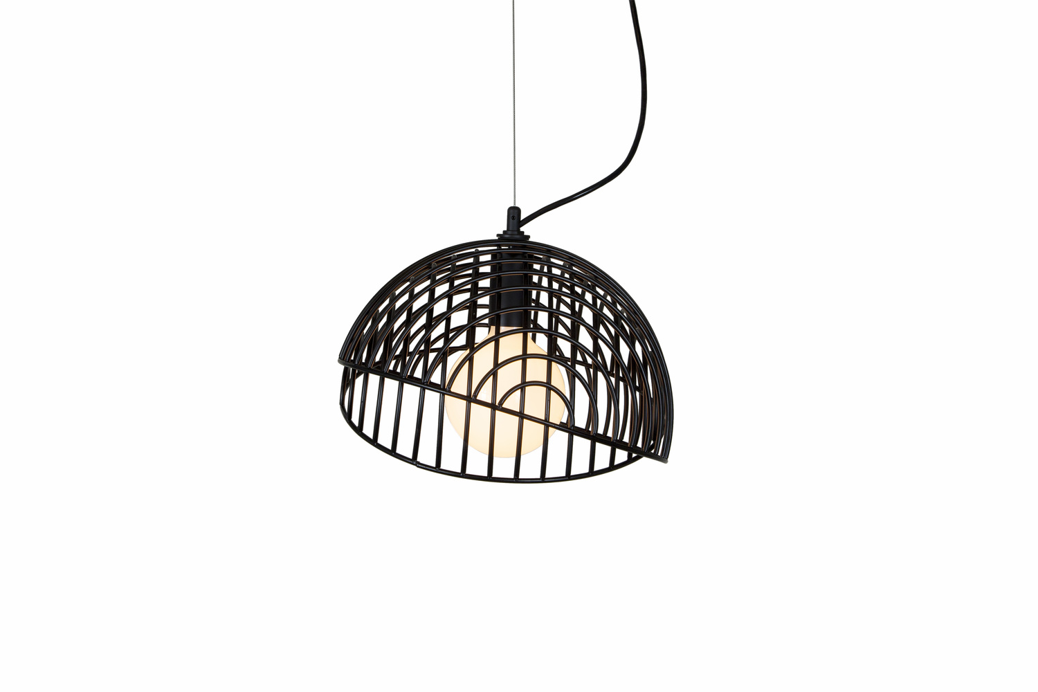 2 dana 1 contemporary black pendant hanging light fixture