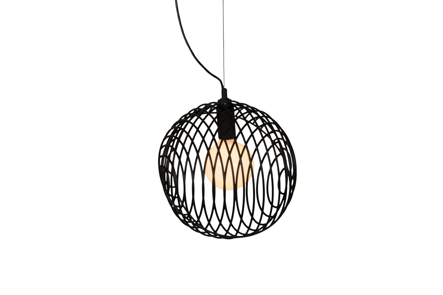 6 dana 1 unique black pendant light hanging lamp
