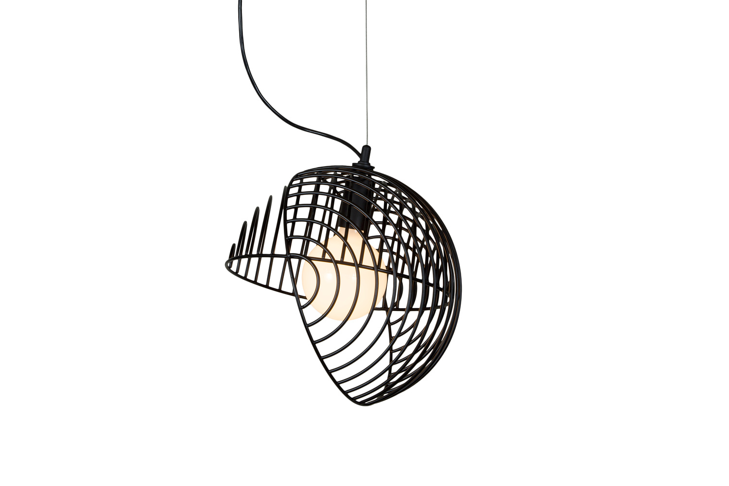 8 dana 1 modern graphic black pendant light hanging lamp