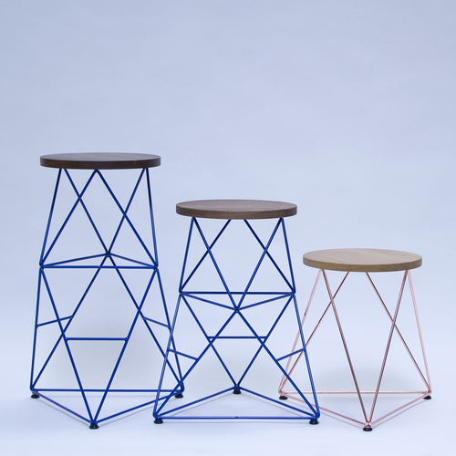 Octahedron stool   24   all