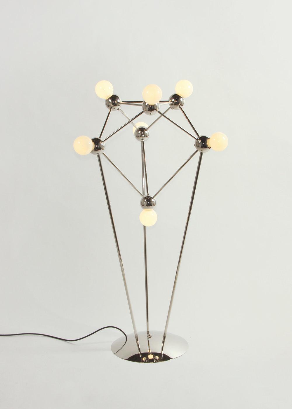 Lina 07 light floor lamp