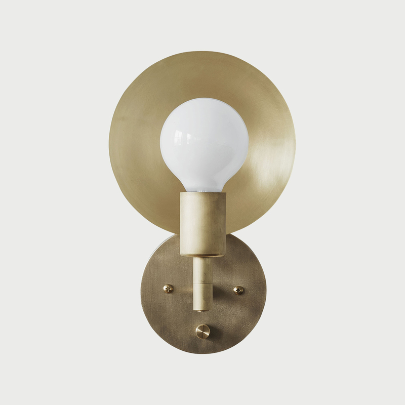 Sconce hardwired front