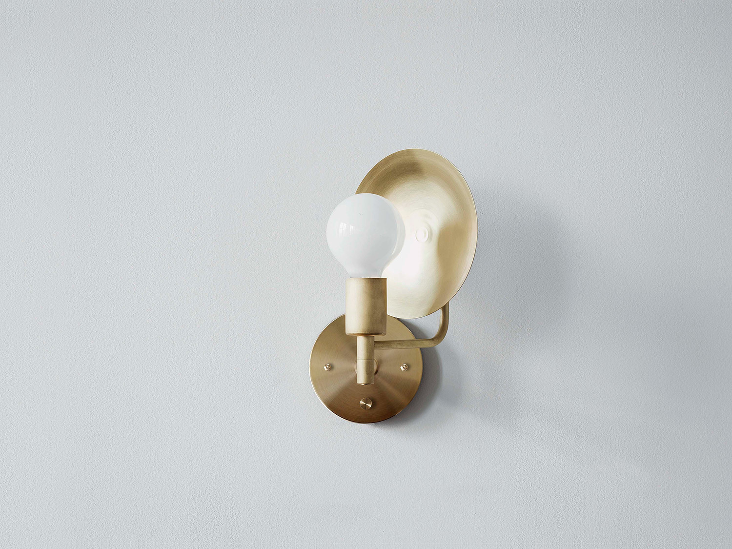 Sconce hardwired angle