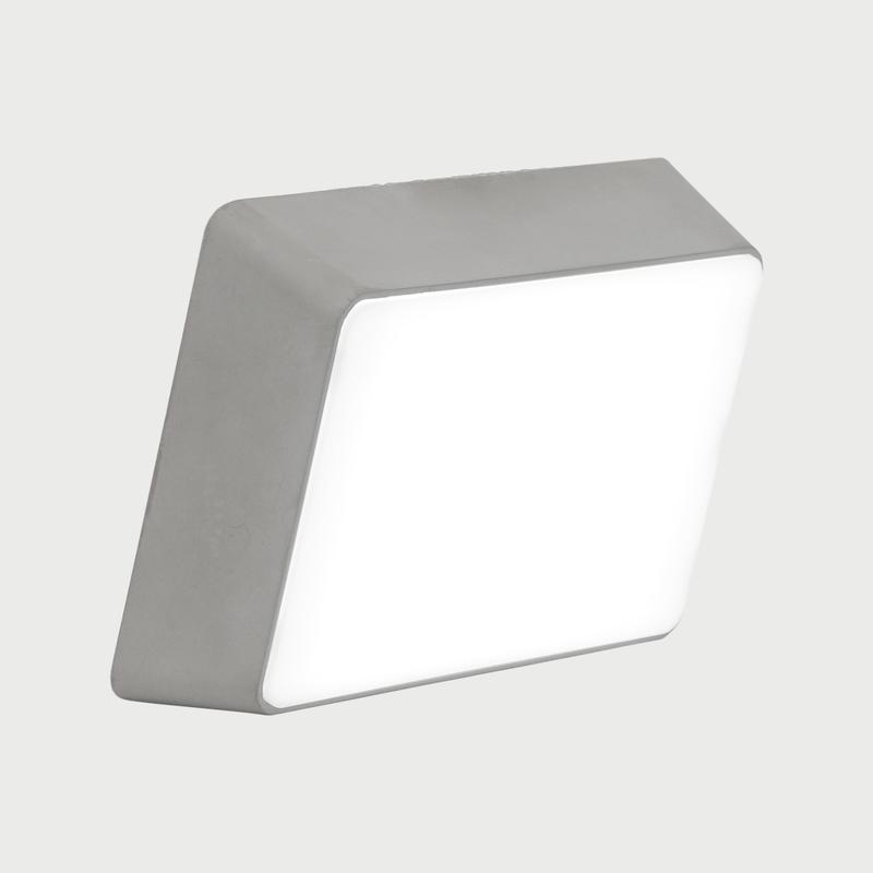 Brick lamp concrete dark gray 01