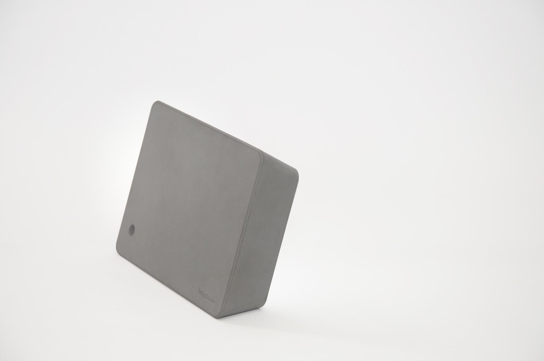 Brick lamp concrete dark gray 03