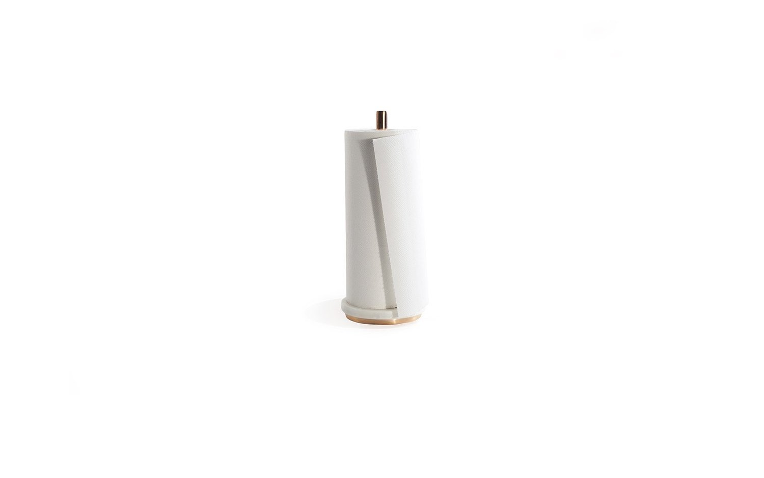 Mara copper paper towel holder with