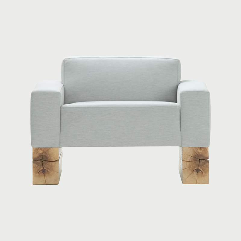 1 seat beam grey