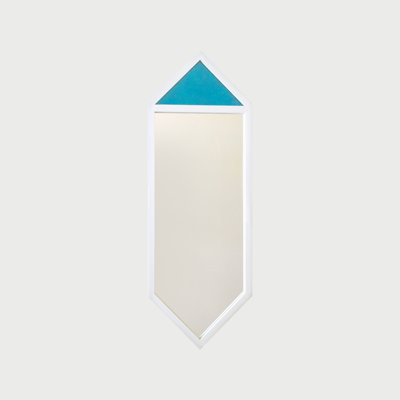Crystal  white   light blue