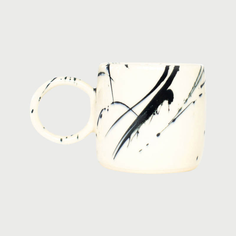Chris earl black splatter mug copy