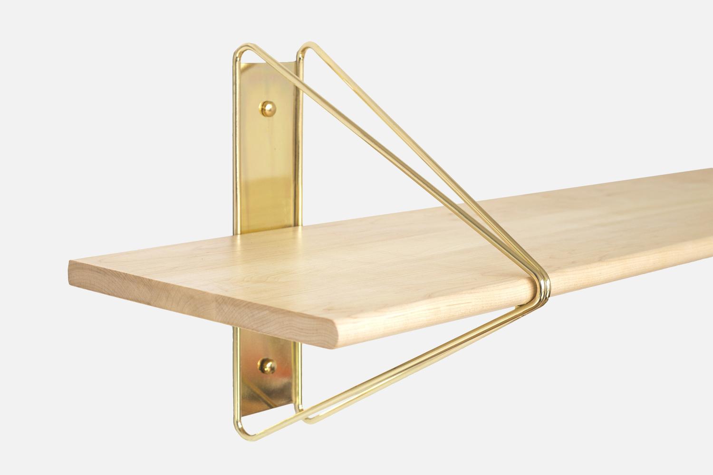 Strut shelving brackets shaunkasperbauer lufttanaka for souda brass