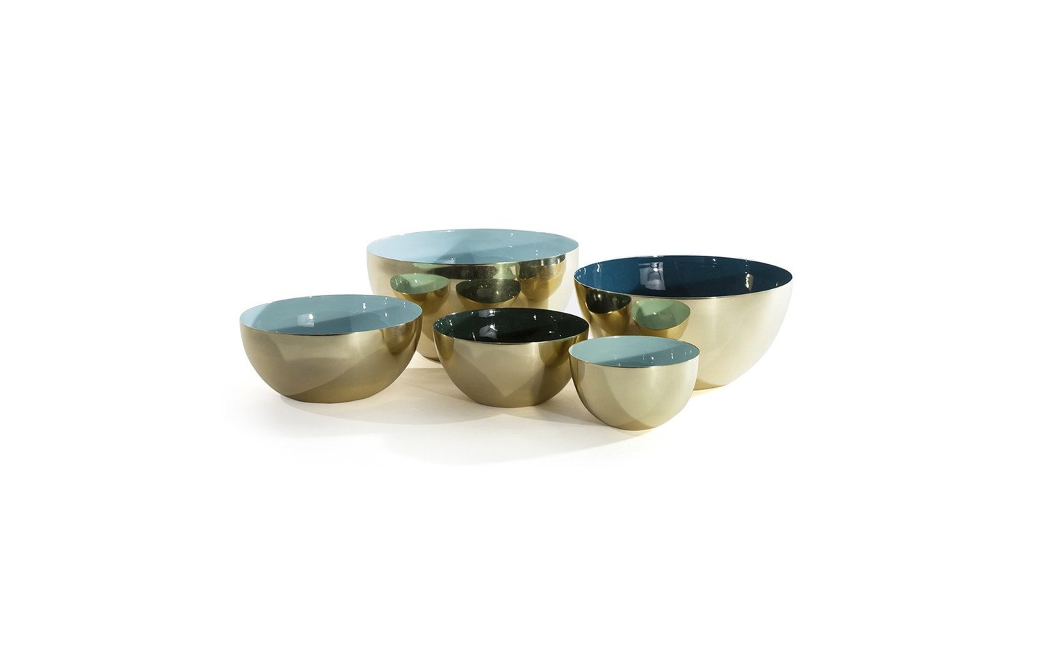 Louise brass bowl family color