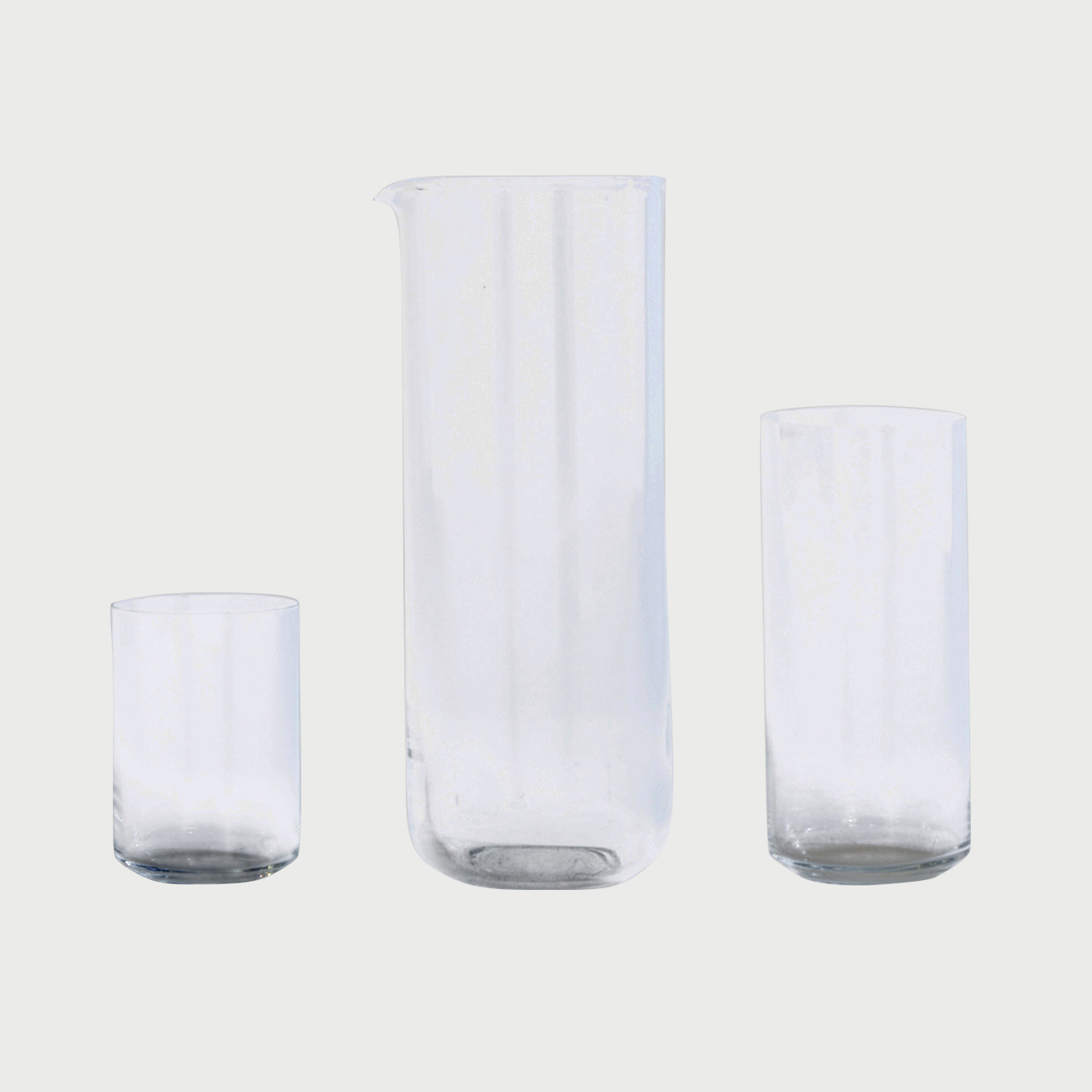 Simple glass ware
