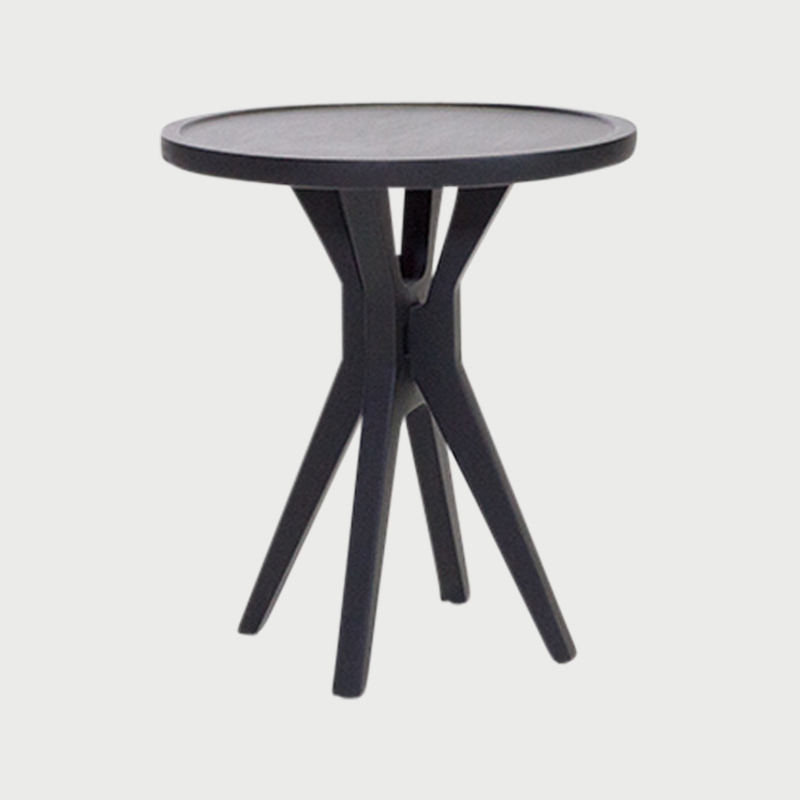 Boton table 2 black stain  282 29