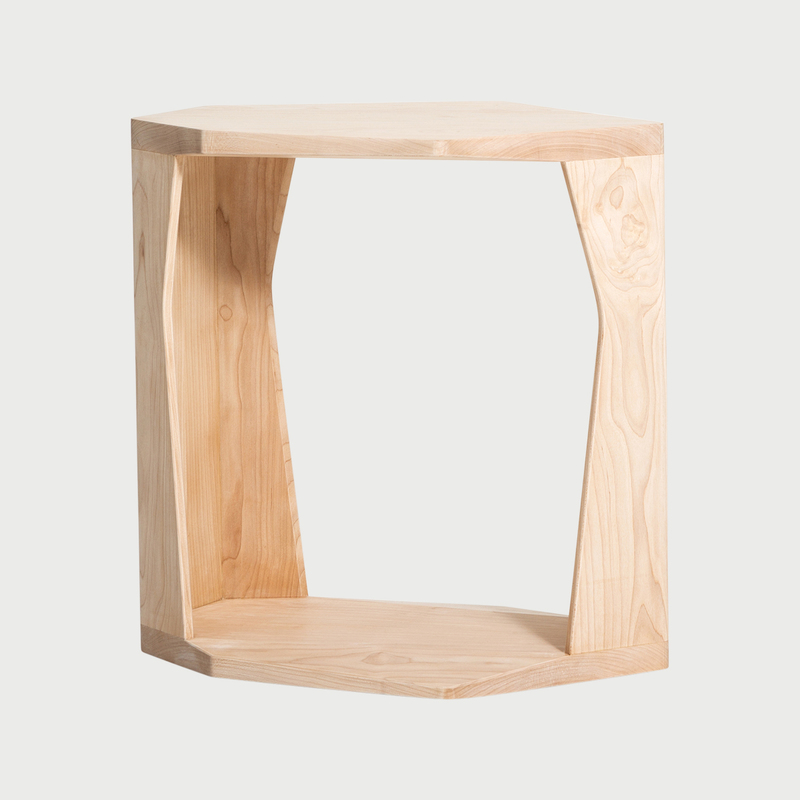 All together now side table stool art and guile maple